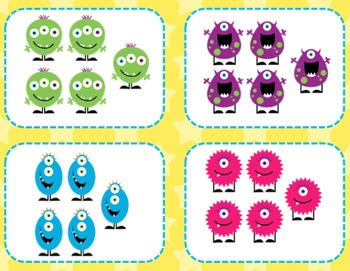 Little Monsters Early Literacy and Math Activities