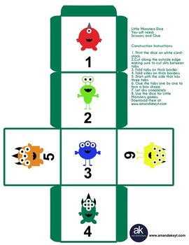 Little Monsters Games Printable Pack