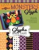 Little Monsters Glyph (Sad Monster/Glad Monster)