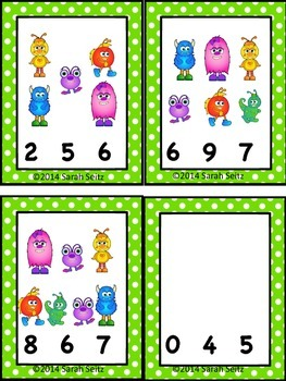 Little Monsters Literacy and Numeracy Activities
