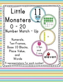 Little Monsters Math: Number Match