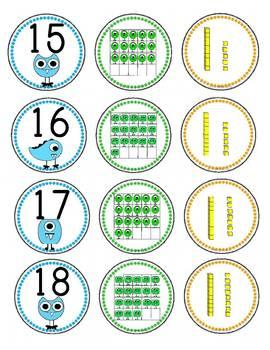 Little Monsters Math: Number Match
