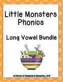 Little Monsters Phonics: Long Vowel Bundle