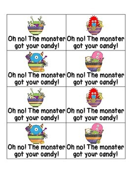 Little Monsters Phonics: Short U Pack