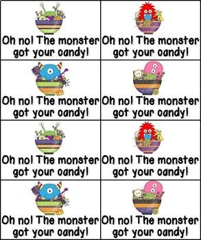 Little Monsters Phonics: Short Vowel Bundle