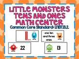 Little Monsters *tens and ones* Math Center