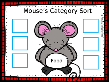 Mouse's Category Sort
