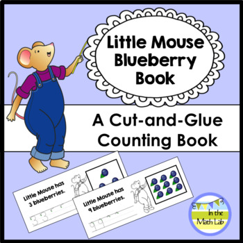 Little Mouse Cut-and-Glue Counting Book