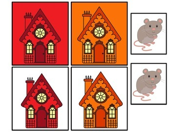 Little Mouse Flannel Board Story with Positional Word Activites and Book