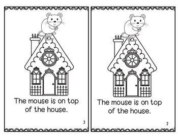 Little Mouse Little Mouse Rhyming Game and Color Activities