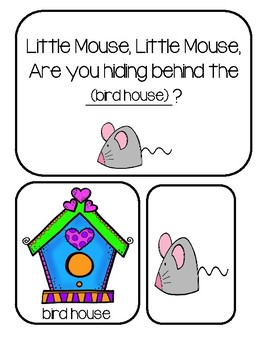 Hide And Seek Game - Little Mouse