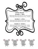 Little Mouse Rhyming Game:  Colors, Letters, Numbers, Memo