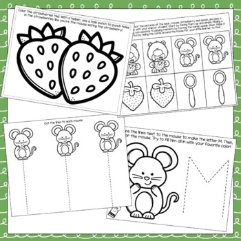 Little Mouse, The Red Ripe Strawberry, and the Big Hungry Bear Toddler Packet