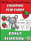 Little Mouse & The Ripe Strawberry Counting Clip Cards (1-10)