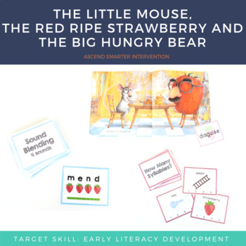 Kindergarten Literacy Center Activities - Little Mouse and The Big Hungry Bear