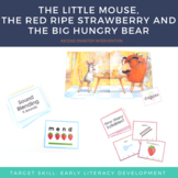 Literacy Center Activities Little Mouse and The Big Hungry Bear