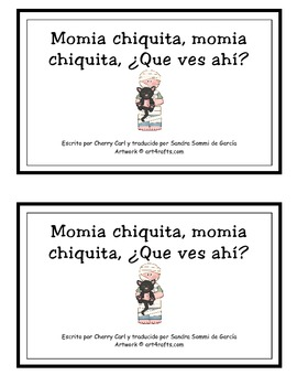 Little Mummy, Little Mummy Guided Reader in Spanish