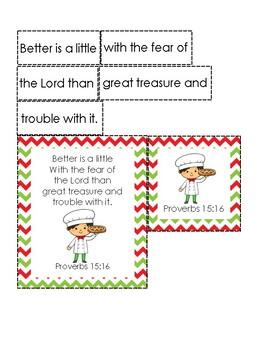 Little Nino's Pizzeria Bible Verse Printable (Proverbs 15:16)