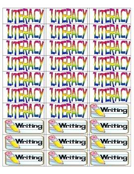 Little Notebook labels