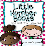 Little Number Books-- Interactive Number Books |Distance Learning