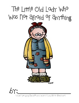 Little Old Lady Not Afraid of Anything {coloring and handwriting book}