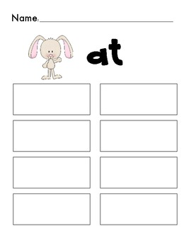 Little Old Lady Who Swallowed a Chick Short A Easter CVC and CVCC word sort