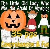 Little Old Lady Who Was Not Afraid of Anything Comprehension Book Companion Unit