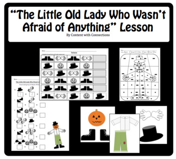 Little Old Lady Who Wasn't Afraid of Anything: Fall- Halloween- Scarecrow Story