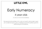 Little Owl: Pre Numeracy Fun Activities