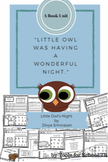 Little Owl's Night, Literature Study, Literature Resources, Kindergarten, Prek