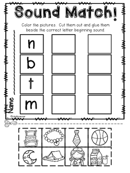 Little Panda, Centers and Printables, Unit 3, Week 1, Kindergarten