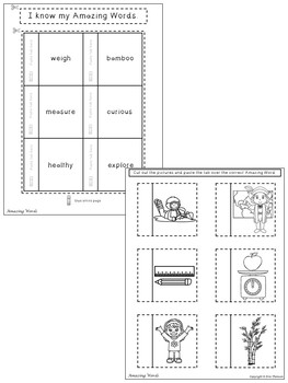 Little Panda Interactive Notebook ~ Reading Street Kindergarten