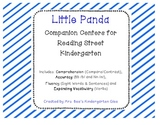 Little Panda Reading Street Companion Centers