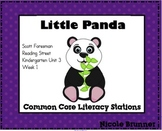 Little Panda Reading Street Unit 3 Week 1 Common Core Lite