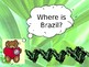 Little Passports - Brazil Powerpoint. Editable
