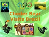 Little Passports - Brazil Powerpoint. Editable