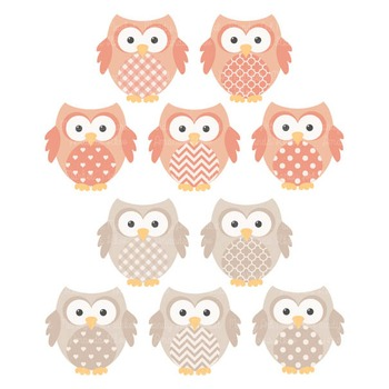 Antique Peach Owl Vectors & Papers - Baby Owl Clipart, Owl Clip Art, Baby Owls