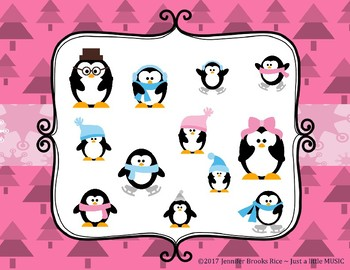 Little Penguin's Rockin' Rhythms - Interactive Reading Practice Game {syncopa}