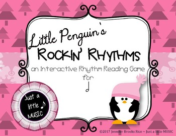 Little Penguin's Rockin' Rhythms - Interactive Reading Practice Game {ta ah}