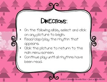 Little Penguin's Rockin' Rhythms - Interactive Reading Practice Game {ti tika}