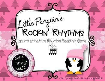 Little Penguin's Rockin' Rhythms - Interactive Reading Practice Game {tika tika}
