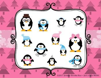 Little Penguin's Rockin' Rhythms - Interactive Reading Practice Game {triple ti}