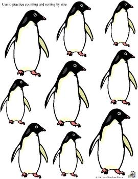 Little Penguins Black and White