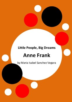 Little People, Big Dreams - Anne Frank by Isabel Sanchez Vegara 6 Worksheets