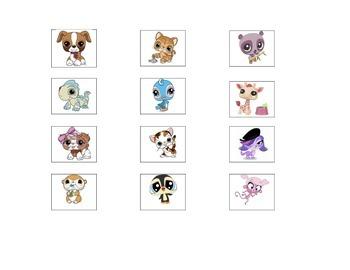 Little Pet Shop Token Board