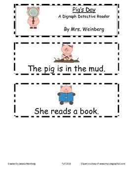 Little Pig Digraph Detective Reader