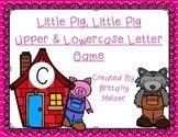 Little Pig, Little Pig Upper & Lowercase Letter Game