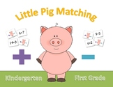 Little Pig Matching Game - Addition & Subtraction