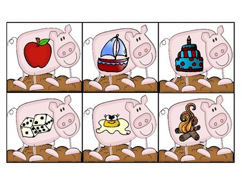 Little Piggy Beginning Sound Game