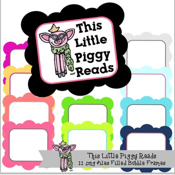 Little Piggy's Filled Bubble Frames (11)